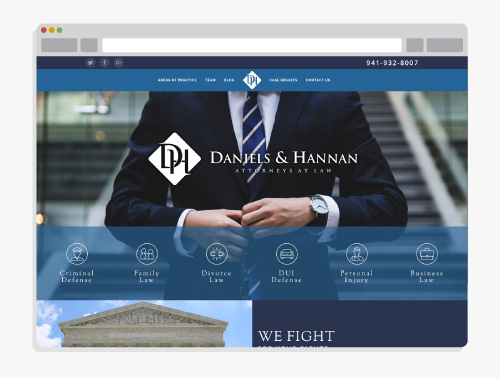 Daniels and Hannan Attorneys at Law