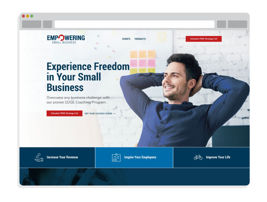affordable web design for small business for Empowering Small Business