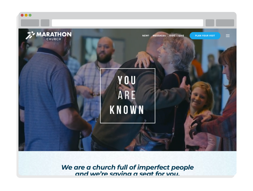 Best Church Websites for Marathon Church