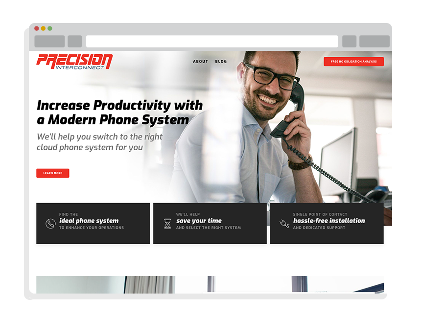 best small business websites for Precision Interconnect